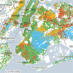 Mapping America: Every City, Every Block